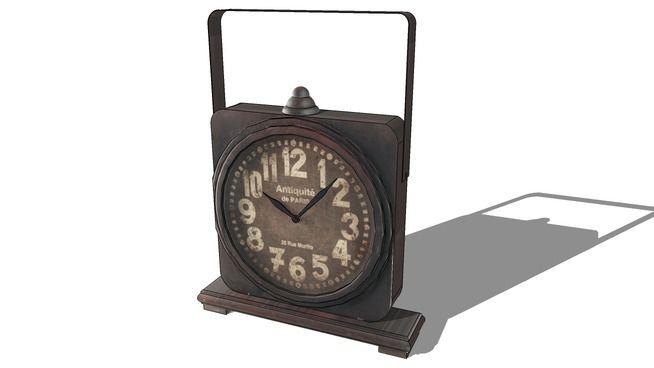 Horloge, Maisons du monde. Réf: 129.967 Prix:69€ - 3D Warehouse