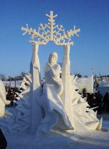 Quebec City Winter Carnival | Ice sculpture, Carnaval de Quebec, Quebec City, Quebec