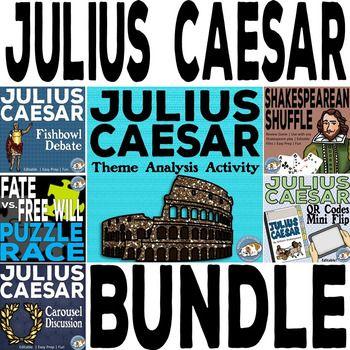 Julius Caesar Activity Mini Bundle