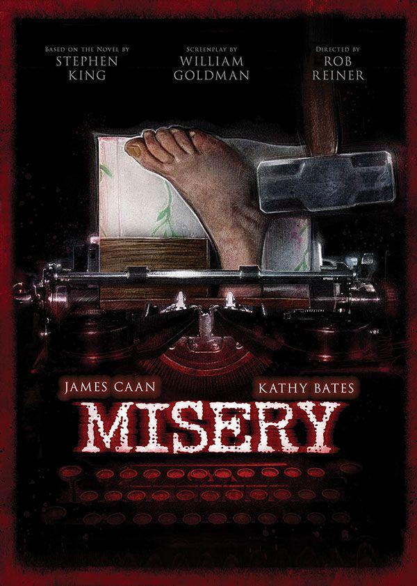 Misery - movie poster - Paul Shipper