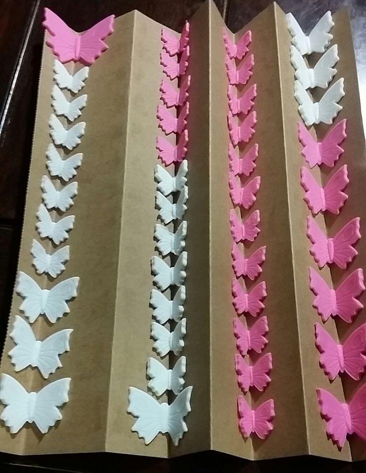 Fondant Butterflies More
