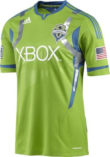Seattle Sounders Authentic Short-Sleeve Jersey