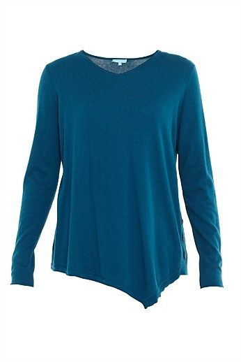 Button Side Top Women's Knitwear- Shop New Women's Knitwear Style & Fashions