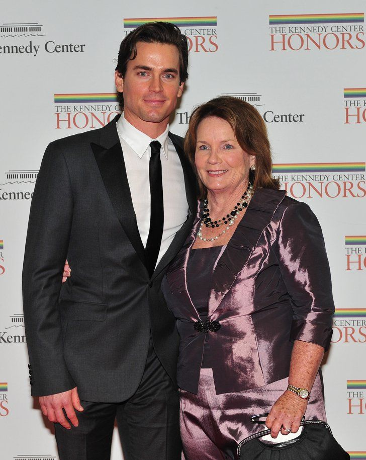 Pin for Later: 30 Reasons Matt Bomer Is So Sexy It Hurts He's a Mama's Boy Matt brought his mom, Sissi Bomer, as his date to the Kennedy Center Honors in 2010.