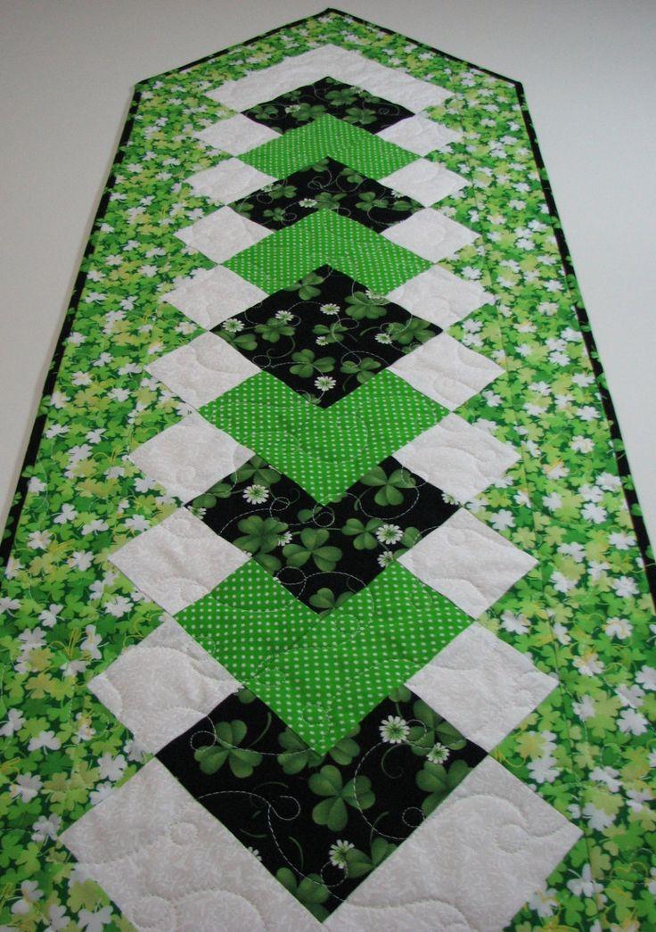 81 Best St Patricks Day Shamrock Quilts Images On