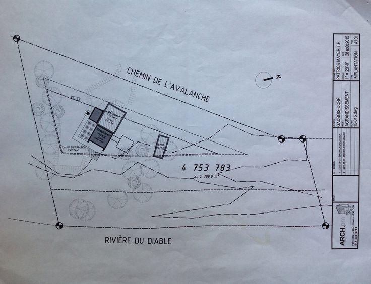 Positionnement Bâtiment Et Agrandissement