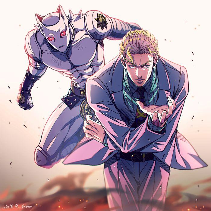 JoJos-Bizarre-Adventure-Diamond-Is-Unbreakable-Yoshikage-Kira.jpg (700×700)