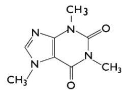 molécule caféine