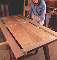 Preview - Making Full-Sized Doors - Fine Woodworking Article & 14 best Doors images on Pinterest | Barn doors Wood doors and Wood ...