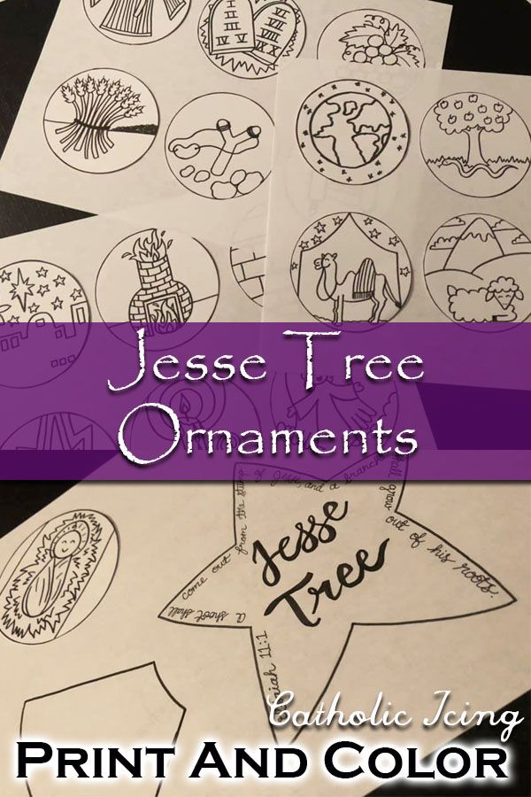 Jesse Tree Readings, Ornaments, and Free Printable ...