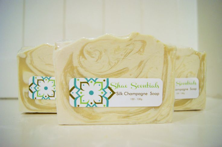 Silk Champagne ,  handmade soap, natural soap, australian soap, Shae Scentials, cold process soap, cocoa butter by ShaeScentials on Etsy