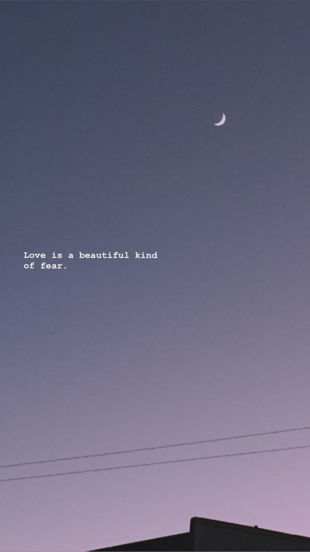 Liebe ist eine schöne Art von Angst. – # # # # # # # # # # # # # # # #