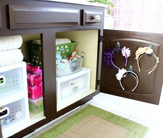Hi Sugarplum | Organized Bathroom Cabinet | Flickr - Photo Sharing!