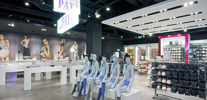 Topshop Oxford Circus flagship store by Dalziel and Pow, London fashion