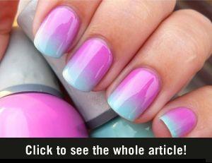 Ombre nagellak tutorial - Vrouwen.nl