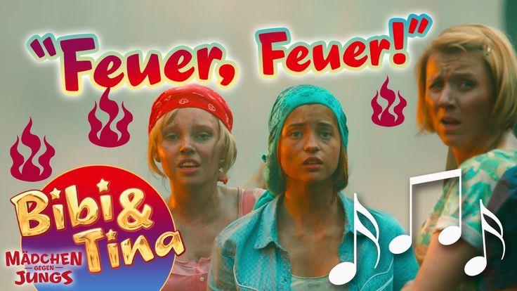 Bibi & Tina - FEUER FEUER official Musikvideo in voller Länge aus Kinofi...