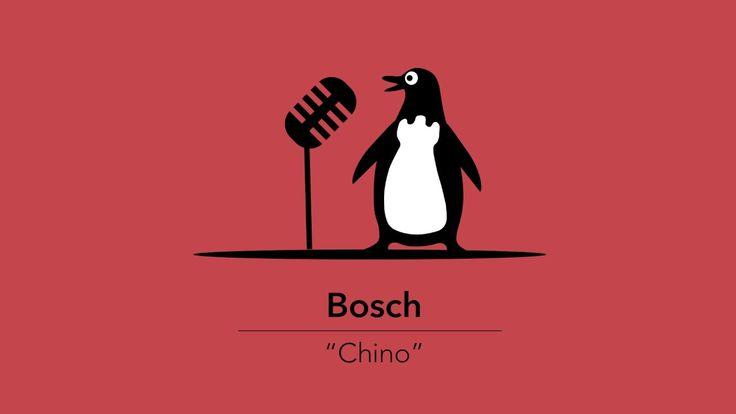 """Chino"" de Pingüino Torreblanca para BOSCH."