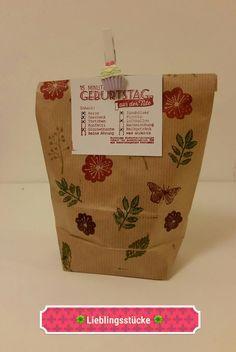 Geschenke für Frauen - 15 Minuten Geburtstag aus der Tüte - ein Designerstück von Ronny2000 bei DaWanda