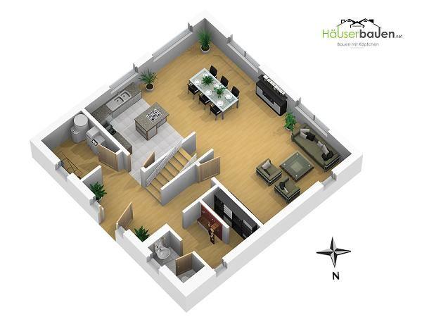 die besten 25 grundriss stadtvilla ideen auf pinterest wohnfl che haus grundriss und stadtvilla. Black Bedroom Furniture Sets. Home Design Ideas