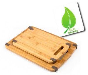 Zestaw dwóch desek bambusowych Zest for Life EKO