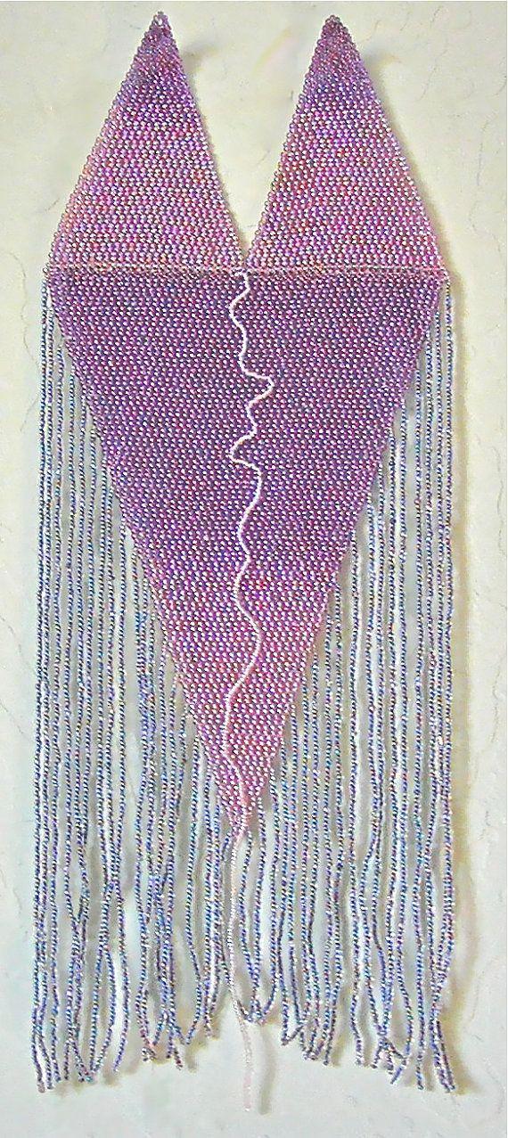 A beadwork wall art I call My Sister Hanna And by SuzannaSolomon, $160.00