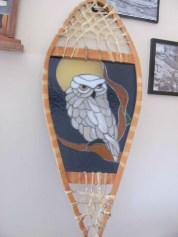 stained glass snowshoe | art, collectibles | City of Toronto | Kijiji