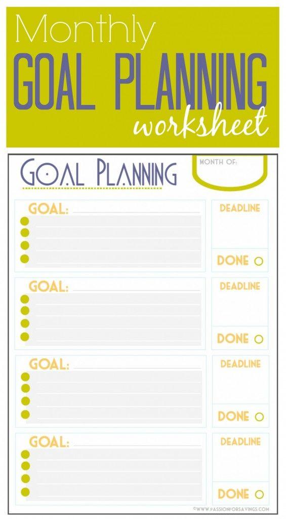 Best 25 Goal Setting Worksheet Ideas On Pinterest Goals