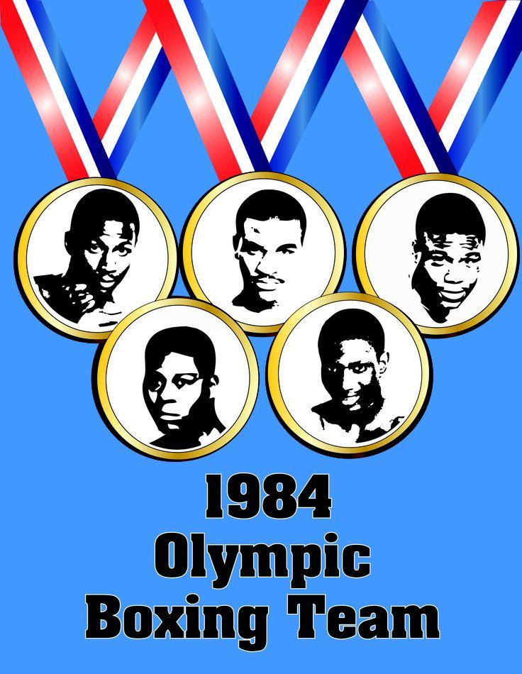 1984 Olympic Boxing Team Call to Glory remake poster Mark Breland, Pernell Whitaker, Tyrell Biggs, Evander Holyfield, Meldrick Taylor https://www.facebook.com/TyrellBiggsdoc