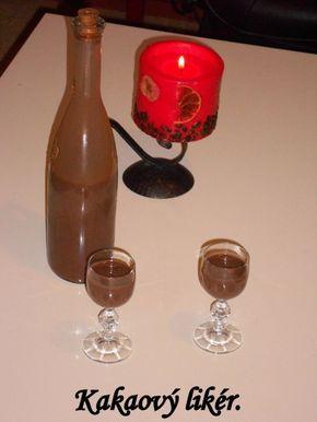 Fotorecept: Domáci kakaový likér
