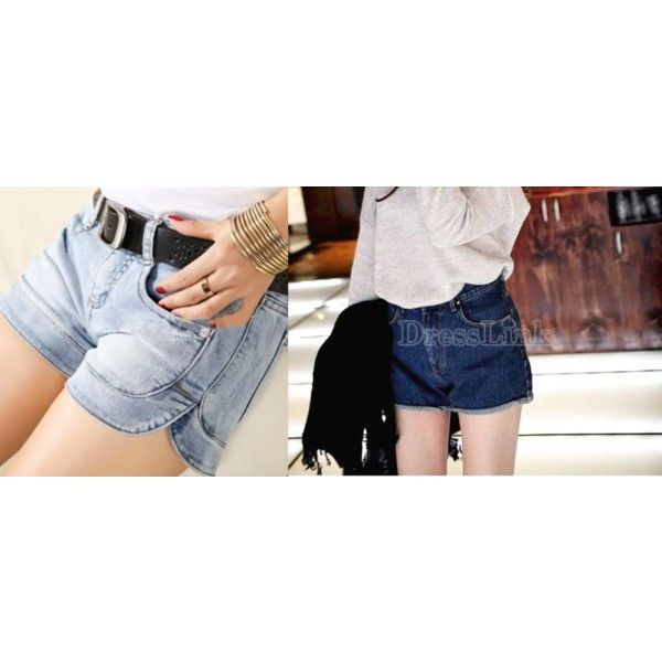szorty Dresslink by skezjablog on Polyvore featuring moda