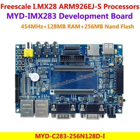MYD-IMX283 Development Board Freescale i.MX283 Development Board MYD-C283-256N128D-I (454MHz,128MB DDR2 SDRAM,256MB Nand Flash)  — 7664.57 руб. —