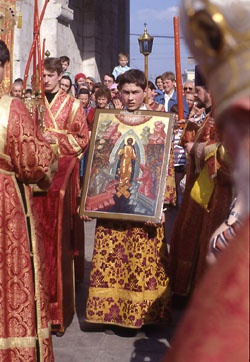 Russian Orthodox Easter is celebrated 35 days