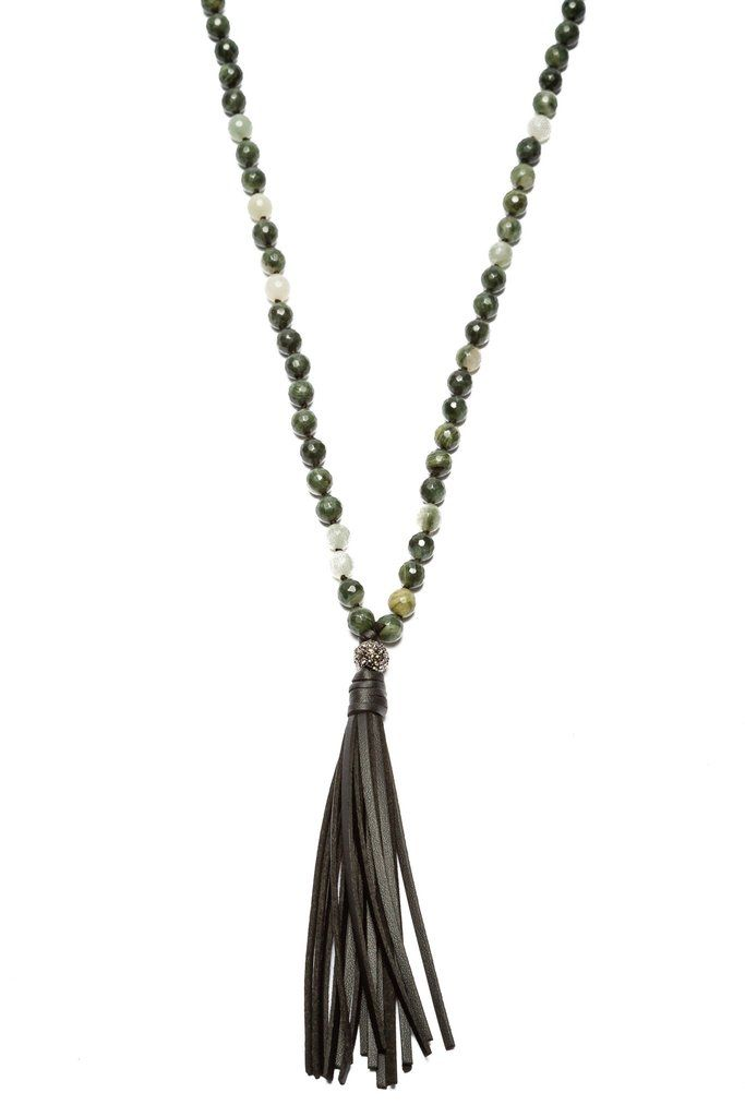 Maleficent Tassel Necklace