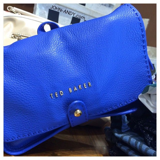 #johnandy #newarrivals #tedbaker #leather #bag #call_for_orders #00302109703888  www.john-andy.com