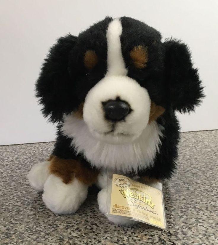 Ganz webkinz signature bernese mountain dog with sealed