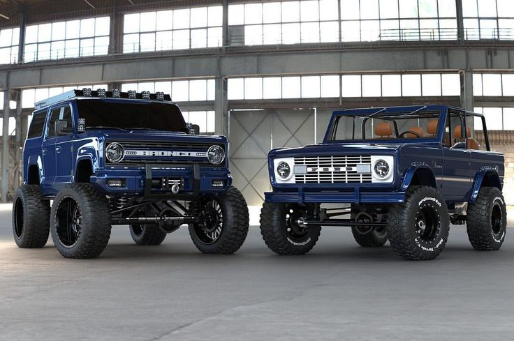 New vs. old? Which Bronco would you take? #innov8 Old ...