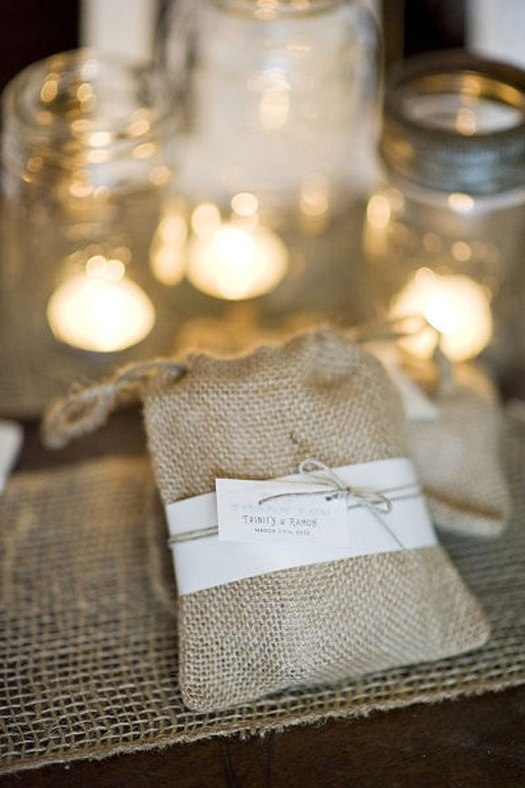 algunos de mis elementos preferidos para decorar en bodas yute rafia y cuerda