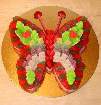 Afbeeldingsresultaat voor vlinder snoeptaart