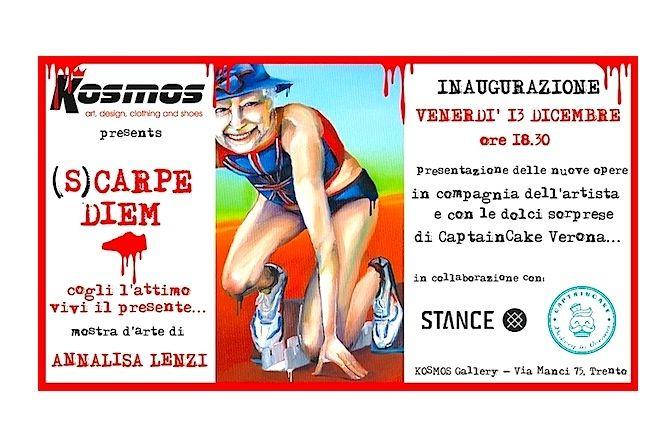 (s)CARPE DIEM opening 13 dicembre 2013 ore 18.30 presso Kosmos Store and Gallery, via Manci 75-TRENTO