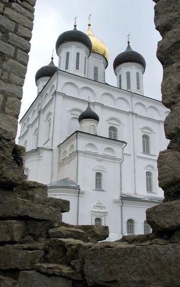 Pskov Kremlin Russia travel