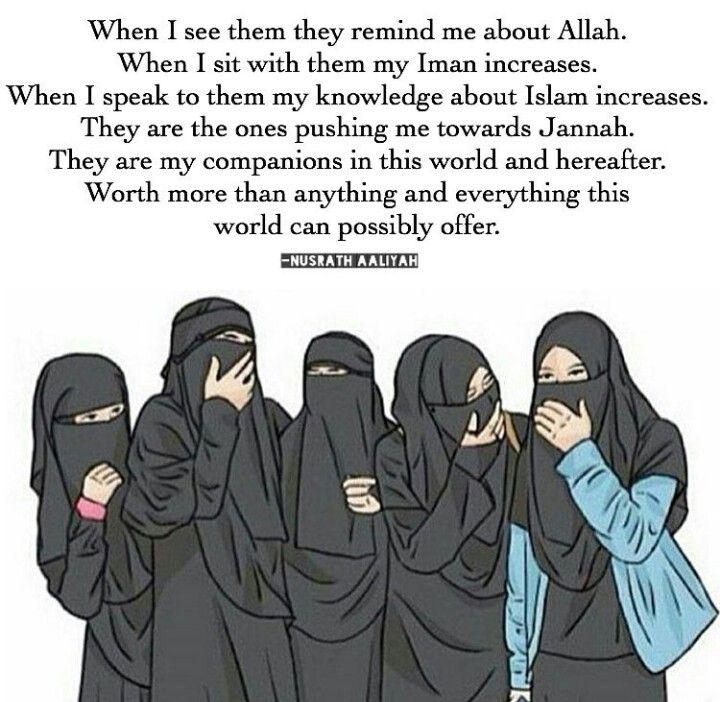 Friendship for the sake of Allah!