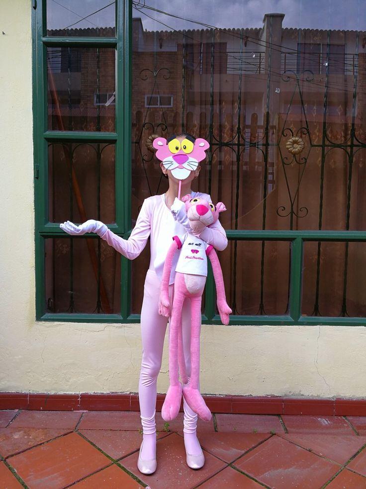 Disfraz de la pantera rosa