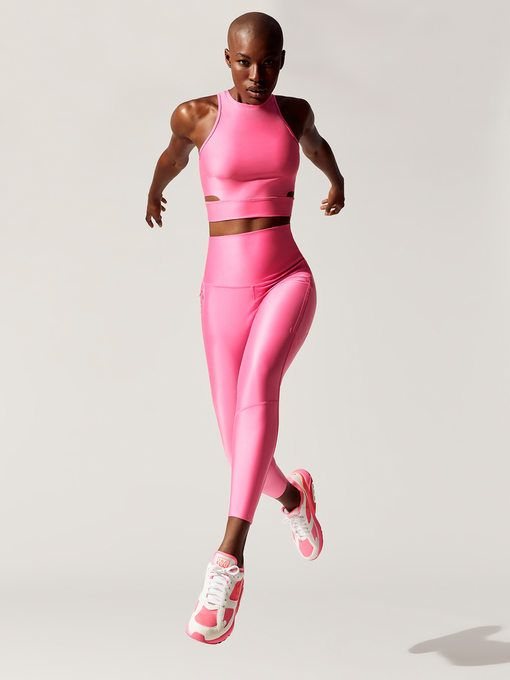 3558abfb52284 Nike Cropped Training Tank - Neon Pink in 2019 | Spring 19 Lookbook ...