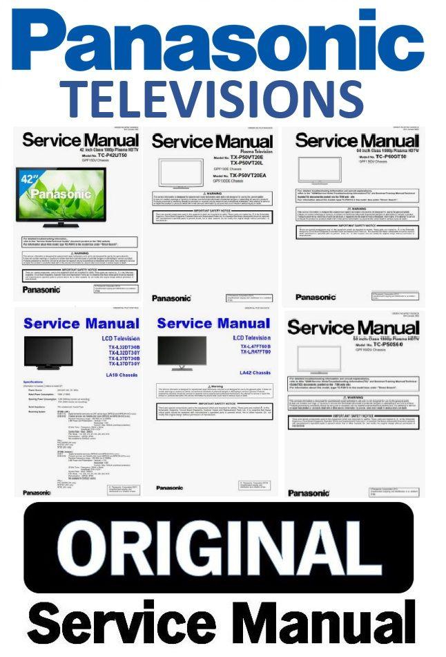 Panasonic Viera Tv Service Manual Schematics Panasonic Tvs Tv Services Panasonic