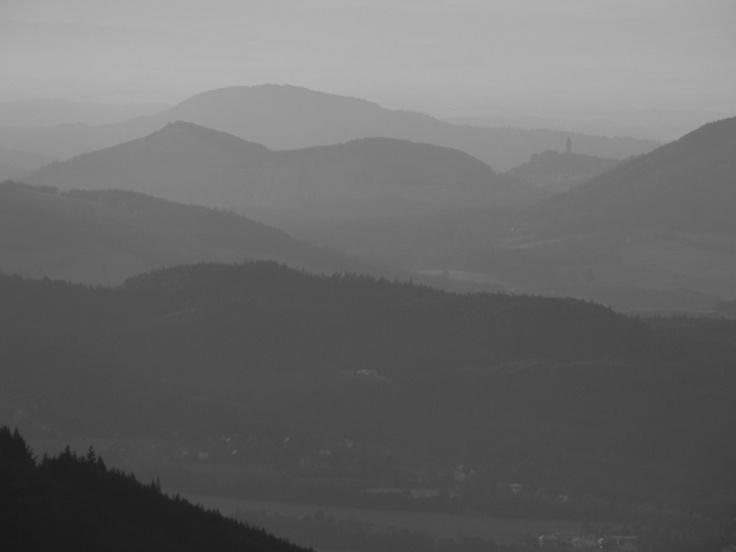 the shades of gray and Štramberská Trůba