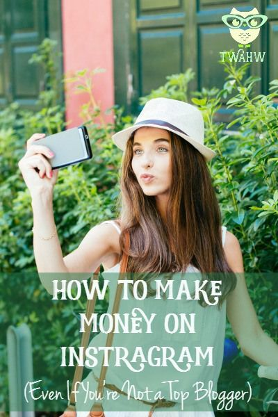 You can make money on Instagram, even if you don't have 1 million followers. Making Money, Making Money Ideas, Making Money Online