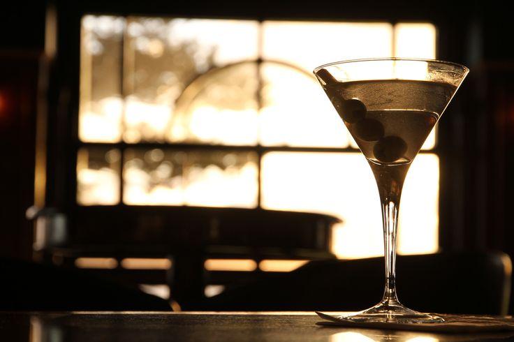 Martini in Horizon's Cocktail Lounge