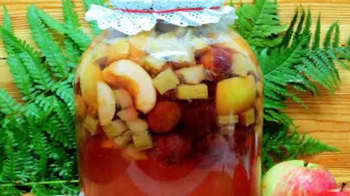 Компот ассорти из фруктов | Вкусно готовим дома