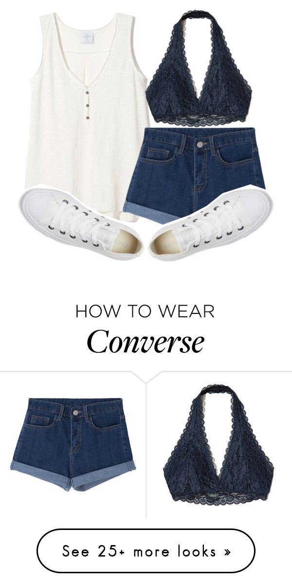 """love is old, love is new, love is all, love is you ❤️"" by sydthekyd01 on Polyvore featuring Hollister Co. and Converse"