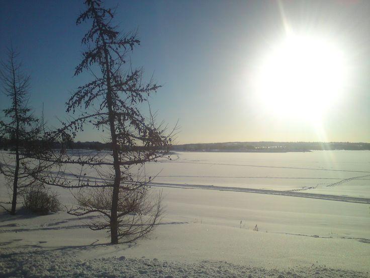 Vinter og sol